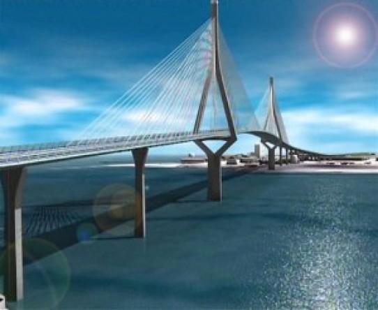 La construcción del puente de Cádiz en cuatro minutos (Video)