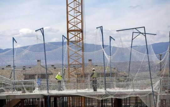 Los sueldos en la construcción subirán un 1% este año